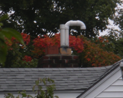 Danger of venting with PVC